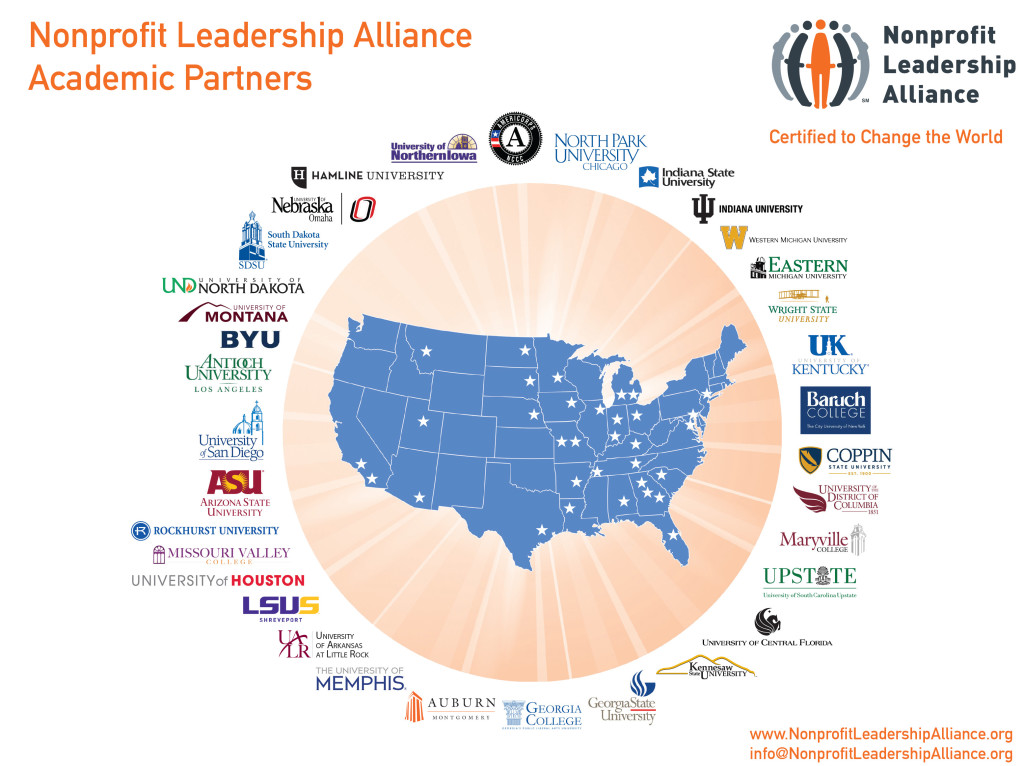 Nonprofit Leadership Alliance Campus Partners